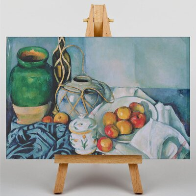 Big Box Art Still Life by Paul Cezanne Art Print on Canvas