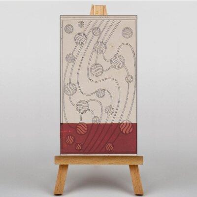 Big Box Art Beads by Koloman Moser Art Print on Canvas