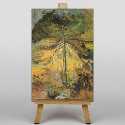 Big Box Art Happiness by Emily Carr Art Print on Canvas