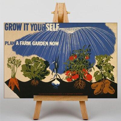 Big Box Art Grow it Yourself Vintage Advertisement on Canvas