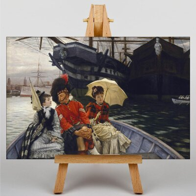 Big Box Art Portsmouth Dockyard by James Tissot Art Print on Canvas