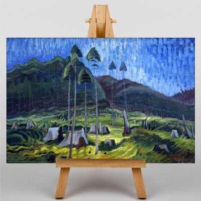 Big Box Art Odds and Ends by Emily Carr Art Print on Canvas