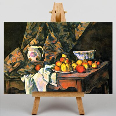 Big Box Art Still Life No.11 by Paul Cezanne Art Print on Canvas