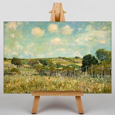 Big Box Art The Meadow by Alfred Sisley Art Print on Canvas