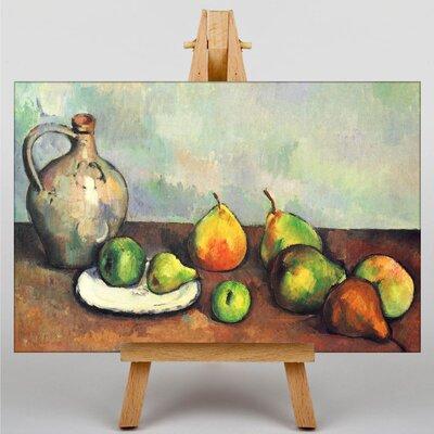 Big Box Art Still Life No.8 by Paul Cezanne Art Print on Canvas