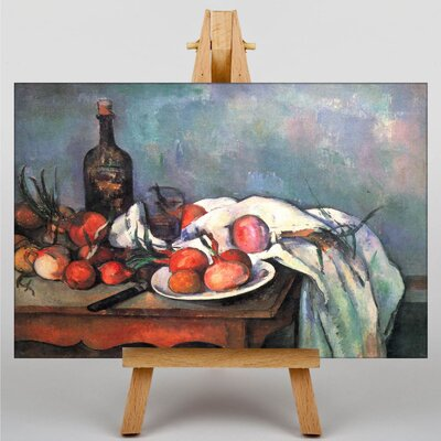 Big Box Art Still Life No.13 by Paul Cezanne Art Print on Canvas