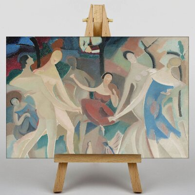 Big Box Art Joy in the Woods by Alice Bailly Art Print on Canvas