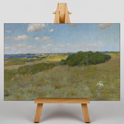 Big Box Art Sunlight and Shadow Shinnecock Hills by William Merritt Chase Art Print on Canvas