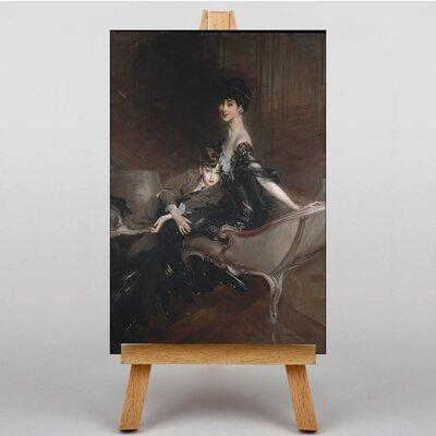 Big Box Art Portrait of Consuelo Vanderbilt by Giovanni Boldini Art Print on Canvas