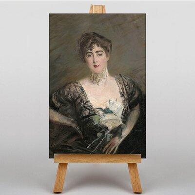 Big Box Art Portrait of Josefina Errazuriz by Giovanni Boldini Art Print on Canvas