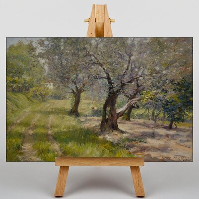 Big Box Art The Olive Grove by William Merritt Chase Art Print on Canvas