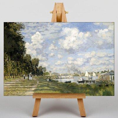 Big Box Art Bassin Dargenteuil by Claude Monet Art Print on Canvas