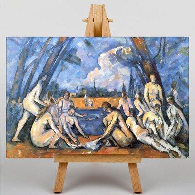 Big Box Art The Bathers No.2 by Paul Cezanne Art Print on Canvas