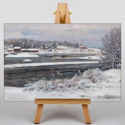 Big Box Art Bukowskis by Victor Westerholm Art Print on Canvas
