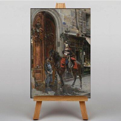 Big Box Art The Dispatch Bearer by Giovanni Boldini Art Print on Canvas