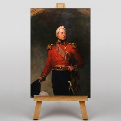 Big Box Art King William IV by William Salter Art Print on Canvas