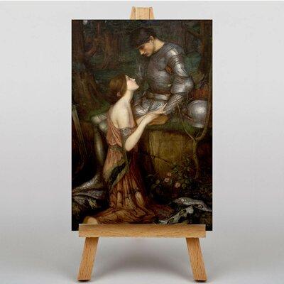 Big Box Art Lamia by John William Art Print on Canvas