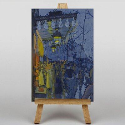 Big Box Art Avenue de Clichy by Louis Anquetin Art Print on Canvas