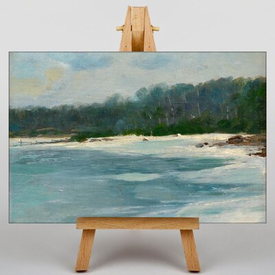 Big Box Art Late Autumn on Land by Victor Westerholm Art Print on Canvas