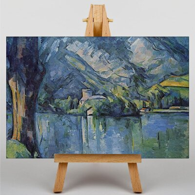 Big Box Art The Lac Annecy by Paul Cezanne Art Print on Canvas