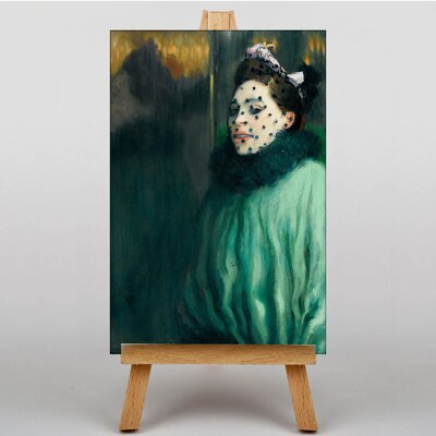 Big Box Art Women with a Veil by Louis Anquetin Art Print on Canvas