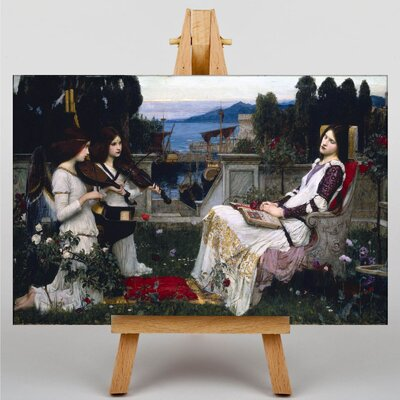Big Box Art Waterhouse Saint Cecilia by John William Art Print on Canvas