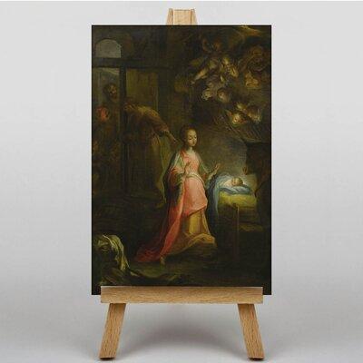 Big Box Art The Nativity Scene by Federico Barocci Art Print on Canvas