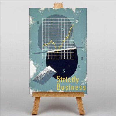Big Box Art Strictly Business Graphic Art on Canvas