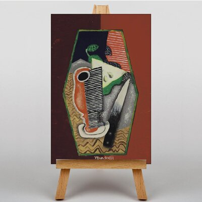 Big Box Art Abstract by Louis Marcoussis Art Print on Canvas