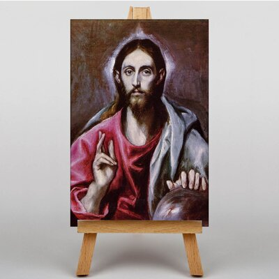 Big Box Art Christ by El Greco Art Print on Canvas