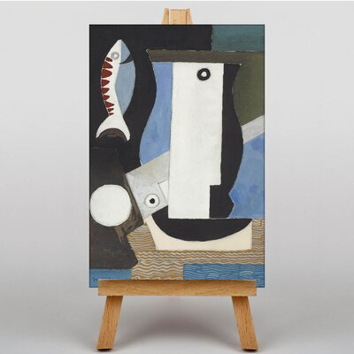 Big Box Art The Fish by Louis Marcoussis Art Print on Canvas