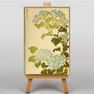 Big Box Art Hydrangea Japanese Oriental Art Print on Canvas