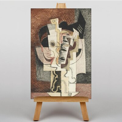 Big Box Art The Table by Louis Marcoussis Art Print on Canvas