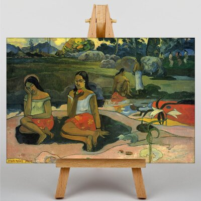Big Box Art Nave Nave Moe by Paul Gauguin Art Print on Canvas