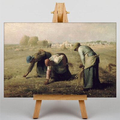 Big Box Art Gleaners by Jean-Francois Millet Art Print on Canvas