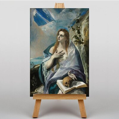 Big Box Art The Penitent Magdalene by El Greco Art Print on Canvas