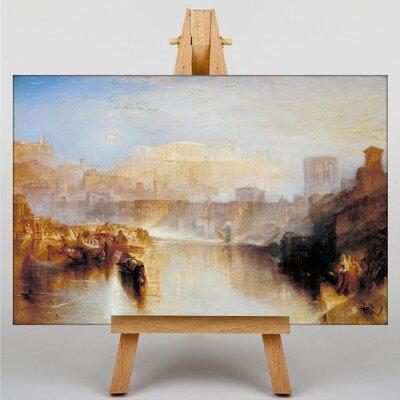 Big Box Art Agripina by Joseph Mallord William Turner Art Print on Canvas