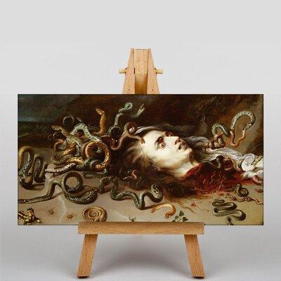 Big Box Art Medusa Head by Peter Paul Rubens Art Print on Canvas