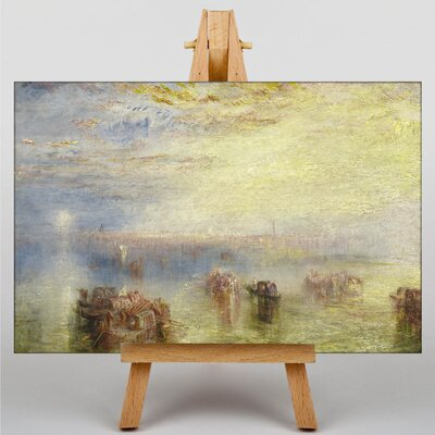 Big Box Art Approach to Venice by Joseph Mallord William Turner Art Print on Canvas