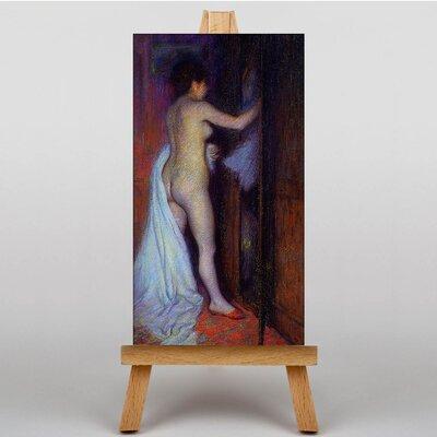 Big Box Art Undressing by Federico Zandomeneghi Art Print on Canvas