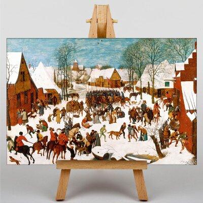 Big Box Art The Elder Massacre of The Innocents by Pieter Bruegel Art Print on Canvas