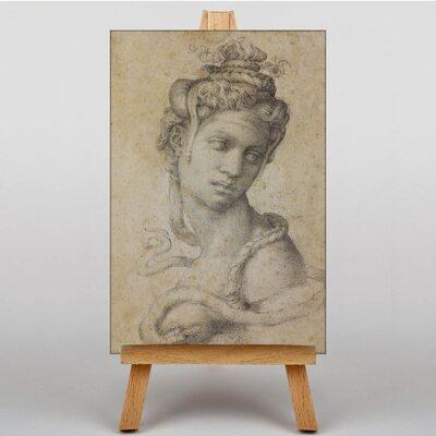 Big Box Art Michelangelo Cleopatra by Michelangelo Cleopatra Art Print on Canvas