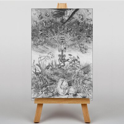 Big Box Art The Scraps by Felicien Rops Graphic Art on Canvas