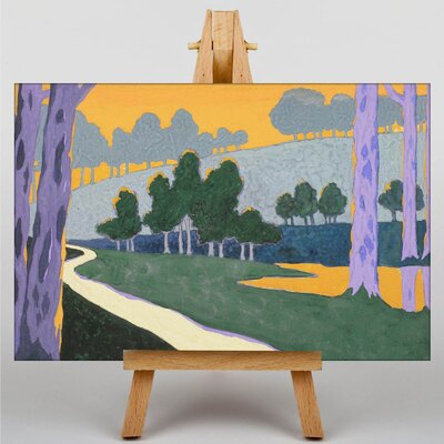 Big Box Art Landscape by Georges Lacombe Art Print on Canvas