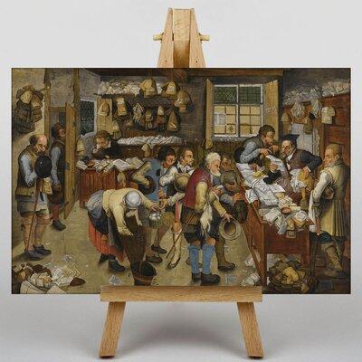 Big Box Art The Elder The Country Brawl by Pieter Bruegel Art Print on Canvas