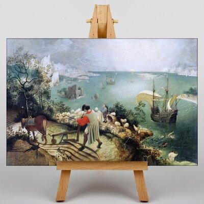Big Box Art The Elder The Fall Of Icarus by Pieter Bruegel Art Print on Canvas