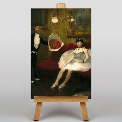 Big Box Art Theatre by Jean-Louis Forain Art Print on Canvas