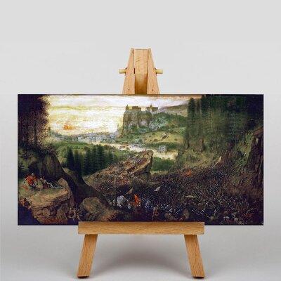 Big Box Art The Elder The Suicide of Saul by Pieter Bruegel Art Print on Canvas