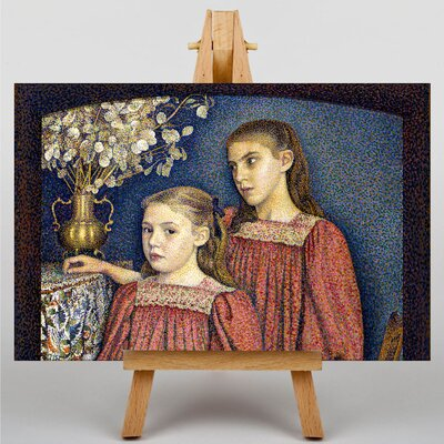 Big Box Art The Two Sisters by Georges Lemmen Art Print on Canvas