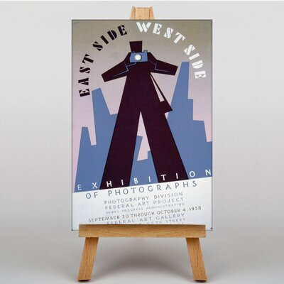 Big Box Art East Side West Side Graphic Art on Canvas